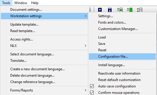 Tips & tricks image 1:config-file