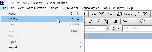 Recipient opens xml file
