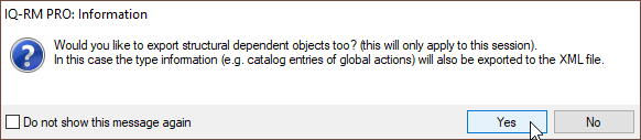 """Select """"Yes"""" to include anchored objects"""