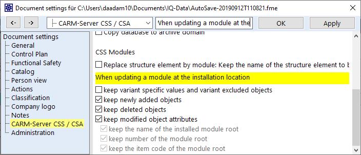 CARM-Server-updating-modules-en