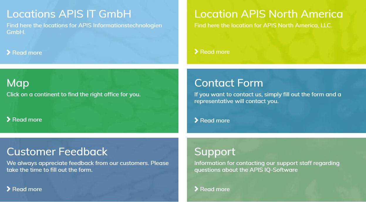 Contact APIS