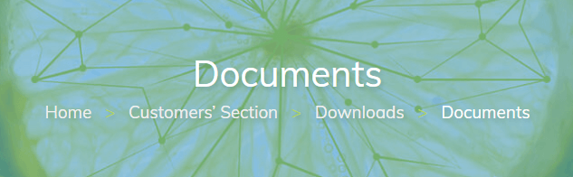 Documents download page