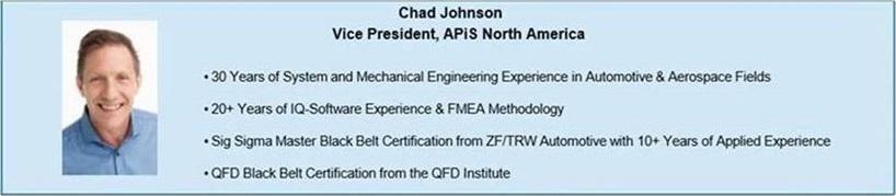 Chad Johnson of APiS North America